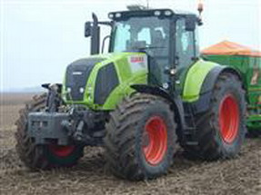 trattore claas axion 850